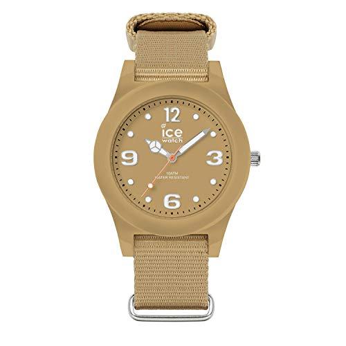 Ice-Watch - ICE slim nature Ground beige - Men's (Unisex) wristwatch with nylon strap - 016446 (Medium)