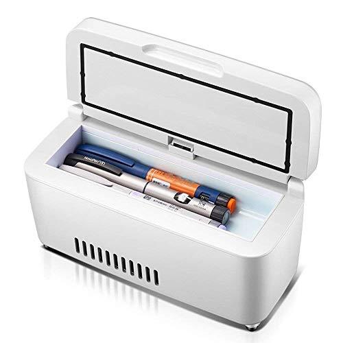 WJSW Tragbare Insulin-Kühlbox Mini-Kühlschrank Auto-Kühlschrank Smart Medicine-Kühlschrank Insulin-Kühler und Insulin-Box 2-18 ° C (23,5 x 9,5 x 10 cm (9,25 x 3,74 x 3,94 Zoll)