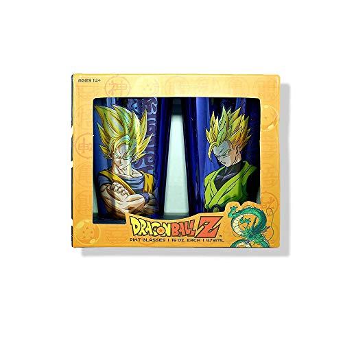 Dragon Ball Z 2 Pk Pint glass