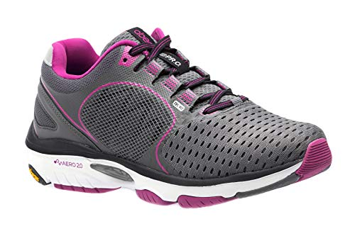 Solace - Wide Athletic Shoes in Dark Grey -Berry Size: 10