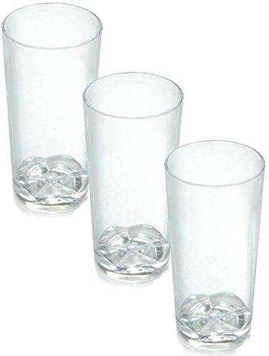 Zappy 208 Disposable Plastic Straight Wall Shooter Glasses 1.75 Oz Clear Tumblers - Tasting Sample Dessert Shooters Wine Tasting glasses Beer Champagne Jello Cup Crystal Shot Glass Cups (208 Ct)