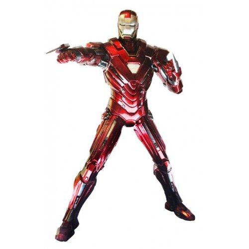Dragon Action Heroes 1:9 Iron Man MK XXXIII Centurion Kit de modélisme Argenté