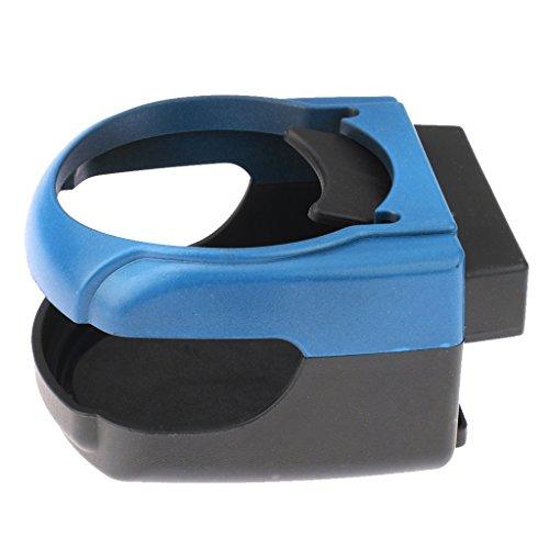 MagiDeal Porte-Gobelet d'Air de Voiture,Support de Goulotte d'Évent de Voiture - bleu