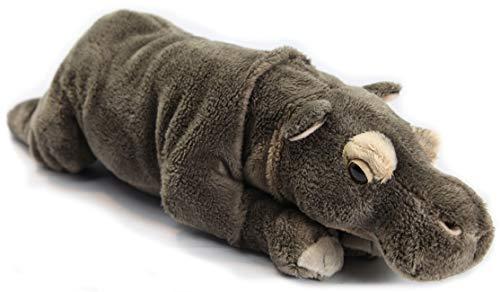 Zaloop Peluche de hipopótamo tumbado, aprox. 31 cm, 173