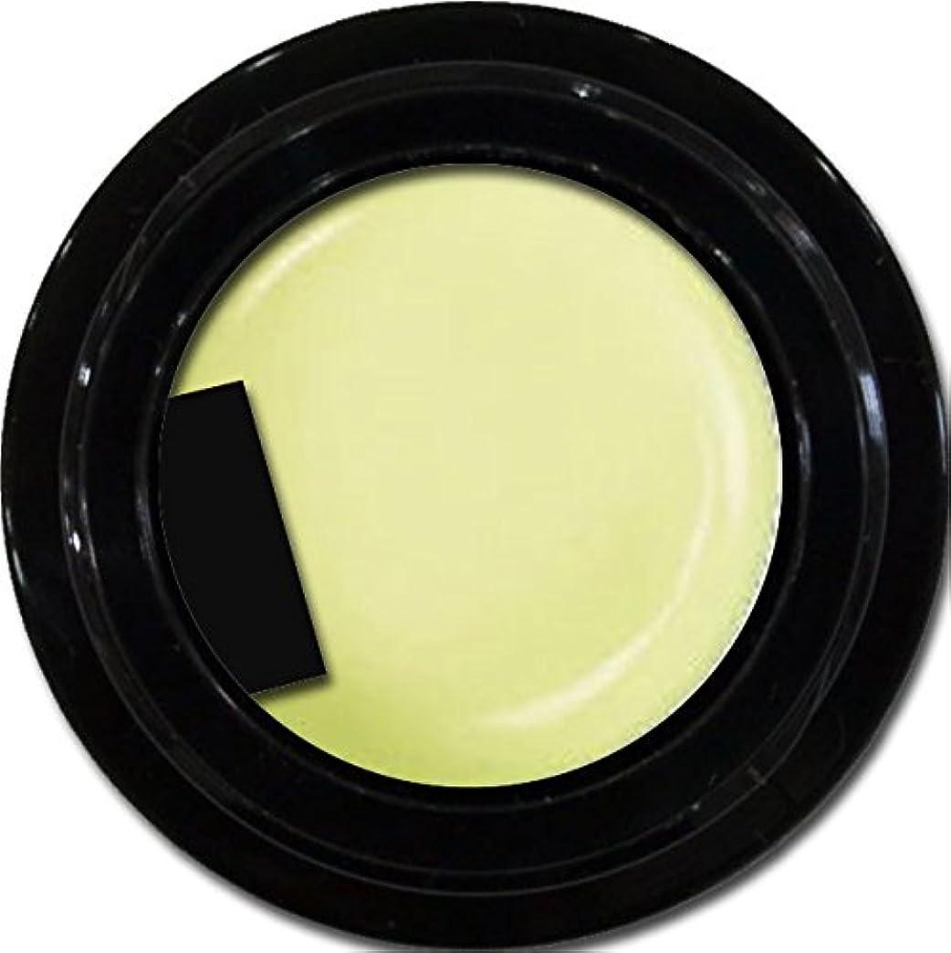 サンドイッチ委託かなりのカラージェル enchant color gel P601 powderYellow 3g/ パールカラージェル P601パウダーイエロー 3グラム