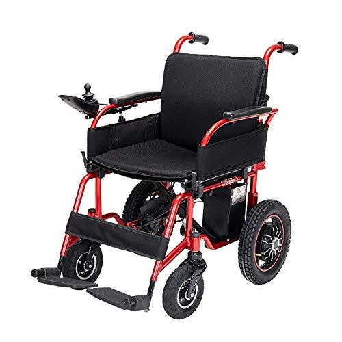 Lichtgewicht opvouwbare elektrische rolstoelen Folding Kleine Ouderen met een lichamelijke intelligente automatische vierwielig Scooter lithium batterij kan in het vliegtuig