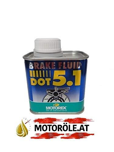 MOTOREX Bremsflüssigkeit DOT 5.1 0,25l