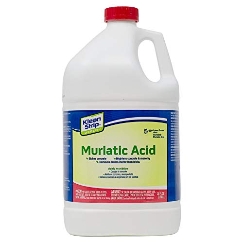 Klean-Strip Green Muriatic Acid, 1 Gallon