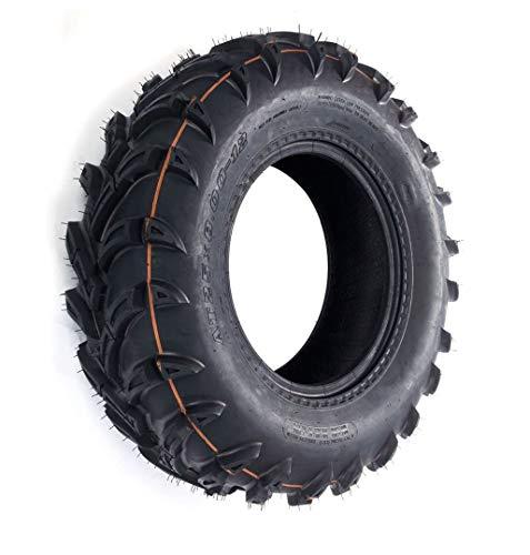 HAKUBA MASSFX ATV Quad Buggy UTV - Neumático todoterreno (25 x 8-12 P377, 25 x 8,00-12)