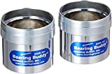Bearing Buddy Chrome Bearing Protectors (2.441' Diameter) With Bras - Pair