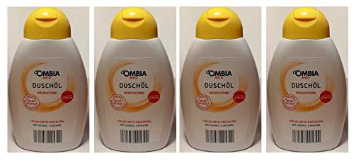 Ombia Med Duschöl Rückfettend mit Mandel+Arganöl Vegan 04x300ml