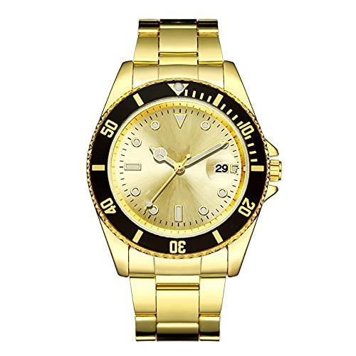 SIMEISM Moda marca de lujo hombres reloj impermeable fecha reloj masculino deportes relojes hombres cuarzo reloj cuarzo relojes