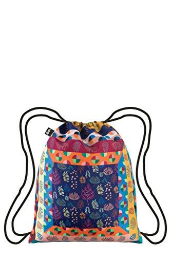 LOQI Artist Hvass&Hannibal Maze Backpack Rucksack, 44 cm, 10 liters, Mehrfarbig (Multicolour)