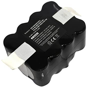 vhbw Batería NiMH 2200mAh (14.4V) para robot aspirador Home ...