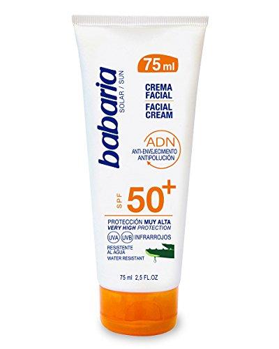 Babaria Crema Facial Solar - 75 ml