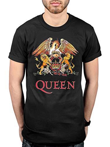 Official Queen Classic Crest T-Shirt