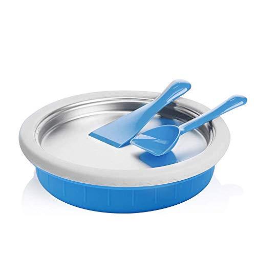 VEVOR 2200W Creamer Maker Frozen Treats in Minutes Fried Ice Machine for Home use, 2200W, OrangeA/Desktop