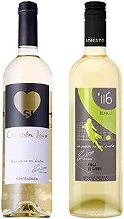 イニエスタ コラソン・ロコ ブランコ&ミヌートス116 ブランコ 白ワイン2本セット