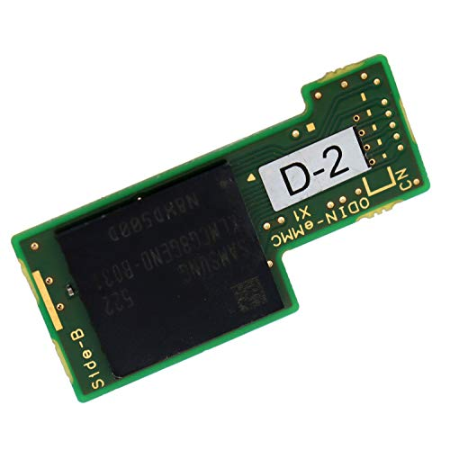 Deal4GO 32GB eMMC NAND Flash IC Memory Storage Board Module Replacement for Nintendo Switch Console THGBMHG8C2LBAIL HAC-001