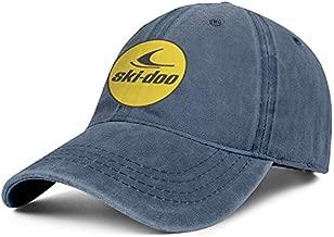 Unicorns Farting Mens Womens Baseball Cap Cute Ski-Doo-Logo- Adult Adjustable Truck Cap Flat Cap