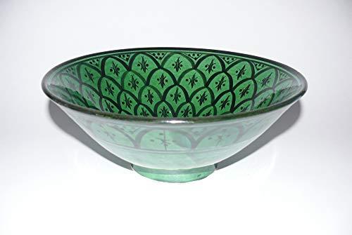 cuenco de cerámica Oriental marroquí de la ensalada de fruta muesli Ø 30 cm - 905257-0103