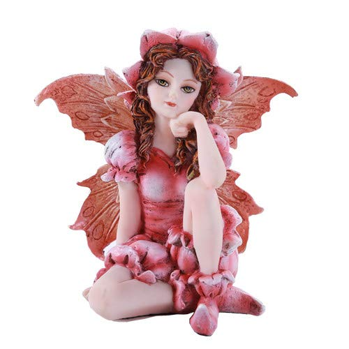 Fairy Garden Fleur Fée décoratifs Mini figurine de jardin 7,6 cm
