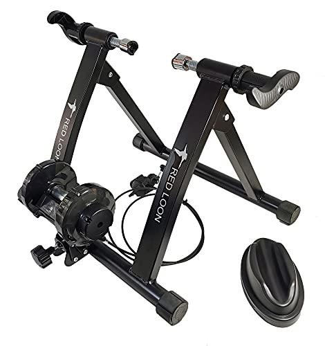 Red Loon BTX007 - Rullo per allenamento a ruote da 26-28', freno magnetico di resistenza