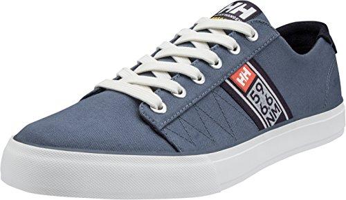 Helly Hansen Pier & Lifestyle, Zapatillas de Deporte Hombre, Azul (Vintage Indigo/Graphite), 8.5 EU