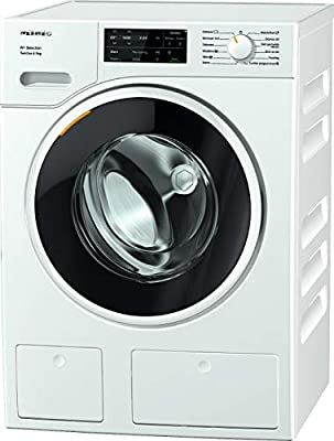 Miele WSG663 Freestanding Washing Machine with TwinDos, 9 kg Load, 1400 rpm spin, White [Energy Class A]