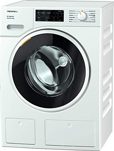 Miele WSG663 Freestanding Washing Machine with TwinDos, 9kg Load, 1400rpm spin, White