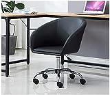 SWNN Gaming Chair Silla Silla ejecutiva Oficina de Compra del Ordenador Silla de Oficina Butaca de Juego, Silla de salón de conferencias de Madera sólida de la PU del Cuero de elevación de la Bandeja