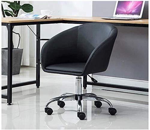 LG Snow Silla Silla ejecutiva Oficina de compra del ordenador Silla de oficina Butaca de juego, silla de salón de conferencias de madera sólida de la PU del cuero de elevación de la bandeja Cinco plac
