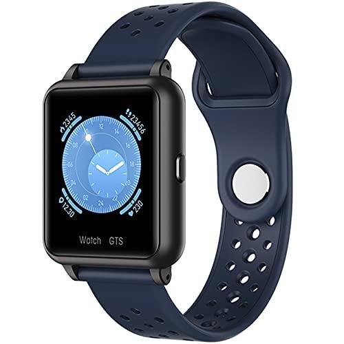 XYG P29 Smart Watch IP67 Medición de la Temperatura Corporal de los Hombres Impermeables a Prueba de Agua Rastro del corazón Rastreador de Fitness Mujeres GTS para Android iOS,D