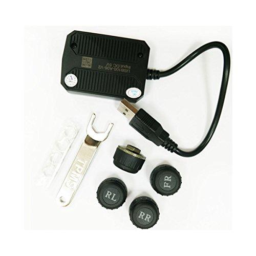 ATOTO AC-UTP1 USB TPMS Sensori di monitoraggio della Pressione dei Pneumatici Sistema (sensore Esterno) - specificato A6 / S8