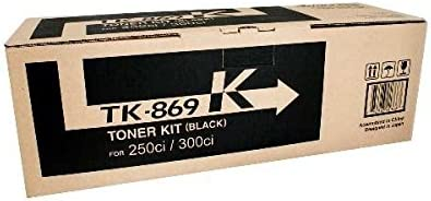 Max 53% OFF Kyocera 1T02JZ0CS0 latest Model TK-869K Black use w Toner For Cartridge