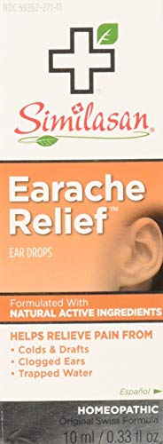 Similasan Earache Relief Ear Drops 10 mL