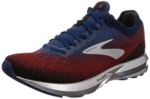 Brooks Mens Levitate 2 Running Shoe - Chili/Navy/Black - D - 11.0