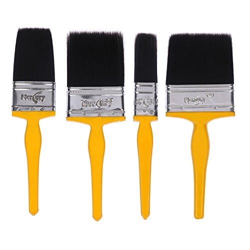 Mercury Brush® Double Thickness Triple Boiled 100% Pure Nylon/Polyester Blend Round Bristles...
