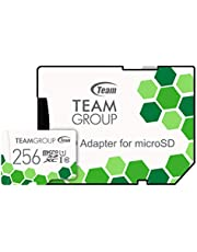 Team microSDXCカード 256GB 高速転送UHS-1 日本国内10年保証 SD変換アダプター付属 正規品