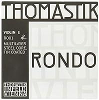 トマスティーク ヴァイオリン弦 RONDO E線 リムーバブルポールエンド4/4 ミディアムテンション カーボンスチール/スズメッキ RO01