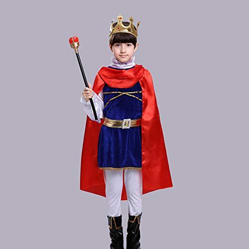 T-XYD Kinder Prins Kostuum Superman Kleding Batman Jongens Halloween Kids Cosplay Jurk Stage Prestatie Kinderkleding 105-145 cm