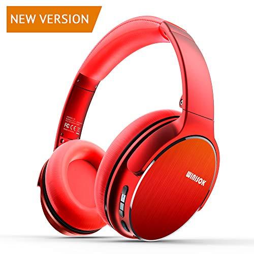 Winisok DJ Kopfhörer, Studiokopfhörer, Over-Ear Headset, Geschlossene Bauweise, Adapter-frei Geschlossener Headphone Stereo/Studio Monitor & Mixing/2 Modi-Wireless und Kabelverbindung