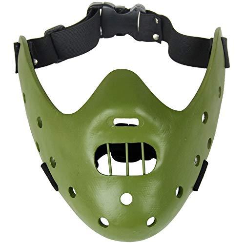 Horror Maskers, Film Thema Collectie Maskers, Hars Maskers, Staal Tanden Hannibal Masker Ambachten Cosplay Poro Halloween Kostuum
