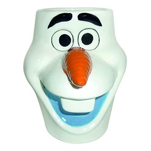 Disney Frozen 83001 Olaf 3D - Taza de cerámica