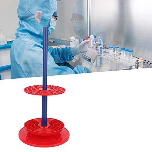 Pipettenständer, Laborbedarf Hochwertiger roter Mehrzweck-Pipettenständerhalter Rack Pipettenständer, große Kapazität (Platz für 94 Pipetten), verwendet in Labors