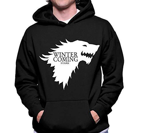 Moletom Criativa Urbana Game Of Thrones Winter Is Coming Stark Blusa - Masculino