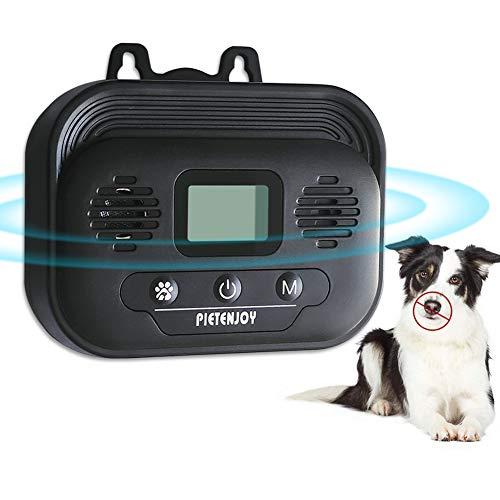 CYWEB Dispositivos Antiladridos de Perros, Dispositivo de Ladridos Sónico a Prueba de Agua para Exterior, Seguro y Inofensivo para Perros