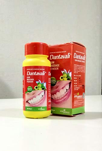 Jayshree Pharmaceuticals Dantavali Gum Massage Powder (100 g) - Pack of 2