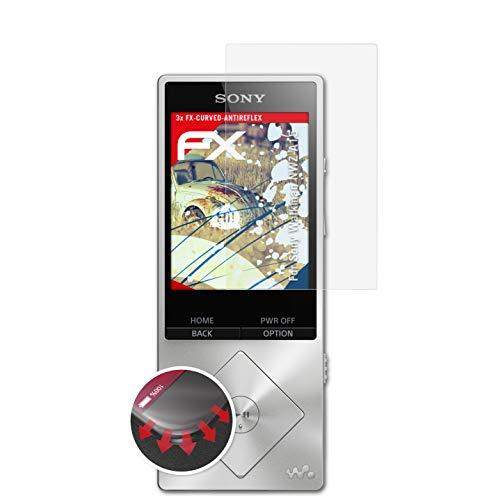 atFoliX Anti-Choque Lámina Protectora de Pantalla para Sony Walkman NWZ-A15 Antichoque Película Protectora, antirreflectante y Flexible FX Película Protectora (3X)