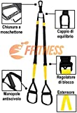 Zoom IMG-1 ffitness suspension strap all giallo